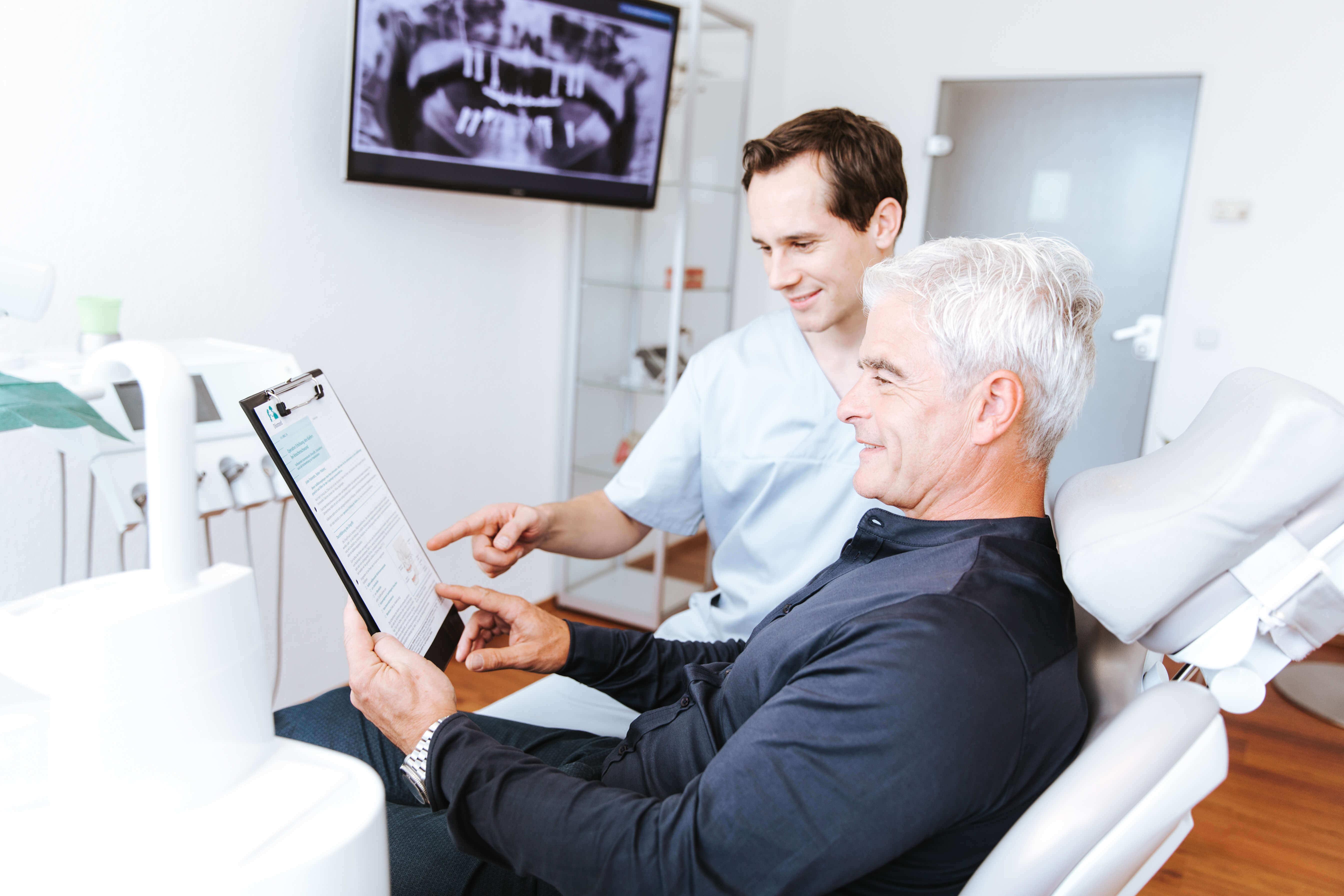 Parodontologie bei Zahnarzt