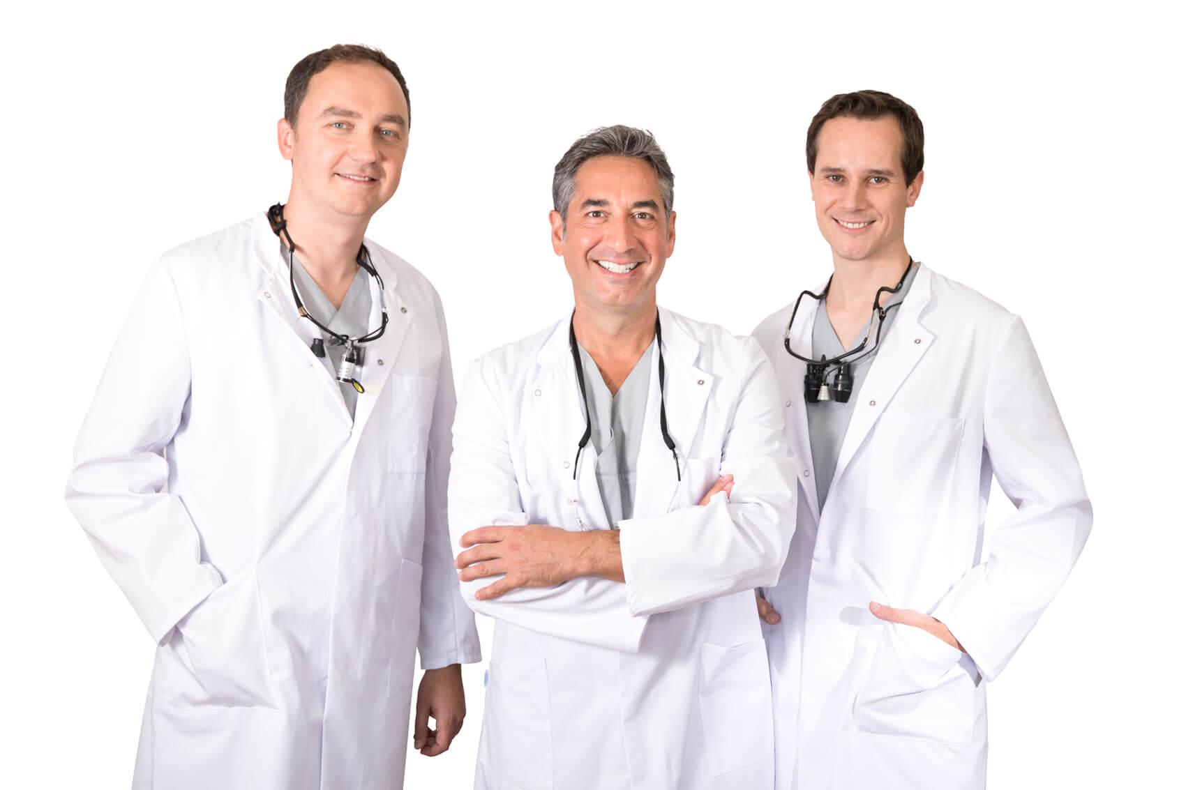 Behandlerteam - Privatpraxis für Zahnmedizin - Zahnärzte Dr. Kent und Kollegen